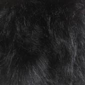 Black faux fur GS-89