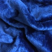 Blue faux fur i-205