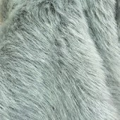 Gray faux fur is-704