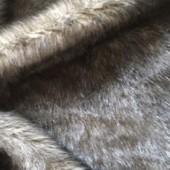 Beige faux fur H-406