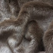 Brown faux fur H-42