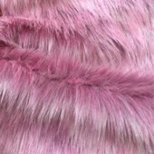 Pink faux fur GS-120