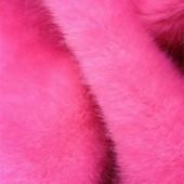 Pink faux fur H-121